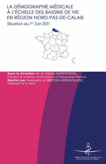 Nord-Pas-de-Calais - Conseil National de l'Ordre des Médecins