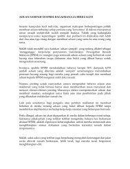Aduan Sampah - Suruhanjaya Pencegahan Rasuah Malaysia