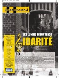 Numéro 13 / 2006 - Jazz in Belgium