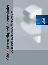Glasplattenträger/Glasverbinder – Auszug aus dem Junior ... - Pauli