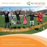 3. + 4. August 2010 G s Erleb - Jugendnetzwerk Konz