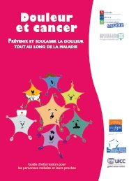 Guide Douleur et Cancer - Institut National Du Cancer