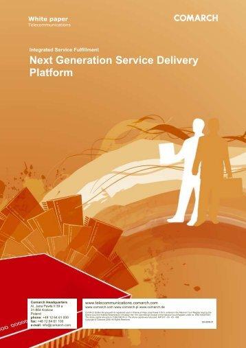 Next Generation Service Delivery Platform - Comarch