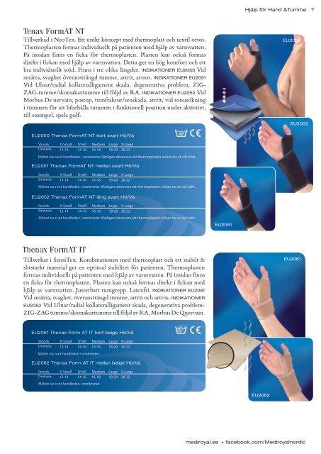Hjälp för Hand och Tumme (PDF) - Mediroyal