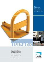 UNIPARK systemen (Pdf) - Came