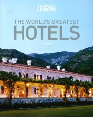 The World's Greatest Hotels - Enchantment Group