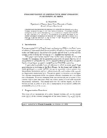 particle physics thesis