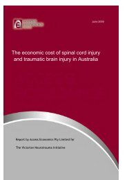 The economic cost of spinal cord injury and traumatic brain injury in ...