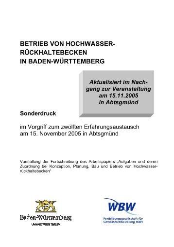 Download - WBW Fortbildungsgesellschaft