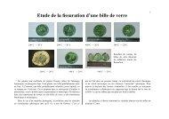 Etude de la fissuration d'une bille de verre - mms2