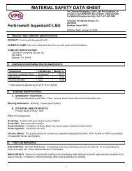 4 MSDS (47 KB) - Fertilome