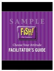 Choose Your Attitude - Facilitator Guide Sample