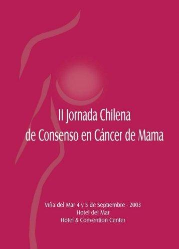 Temario, Prólogo - Sociedad Chilena de Mastología