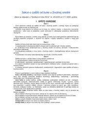 Zakon o zastiti od buke u zivotnoj sredini - NVO Green Home