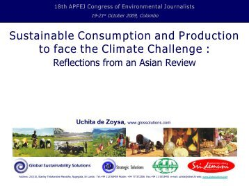 Sustainable Consumption and Production.pdf - Sri Lanka ...