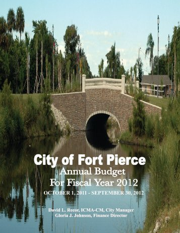 Budget 2011-2012 - City of Fort Pierce