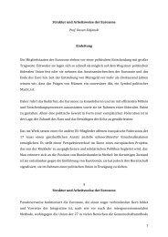 Struktur und Arbeitsweise der Eurozone - Dusan Sidjanski