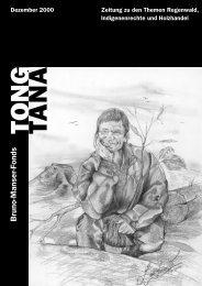 Tong Tana - Dezember 2000 - Bruno Manser Fonds