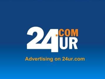 Advertising on 24ur.com