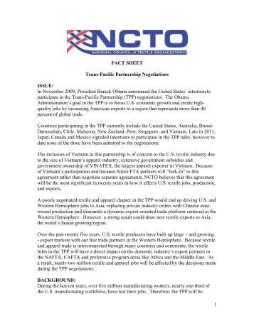 Talking Points - TPP Vietnam Proposal - BIPAC