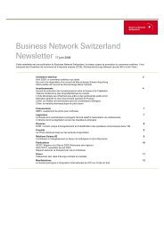 Business Network Switzerland