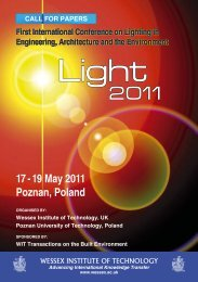 First International Conference On Lighting In Engineering