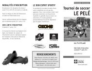 Dépliant Le Pelé É-08.qxp - Peps - Université Laval