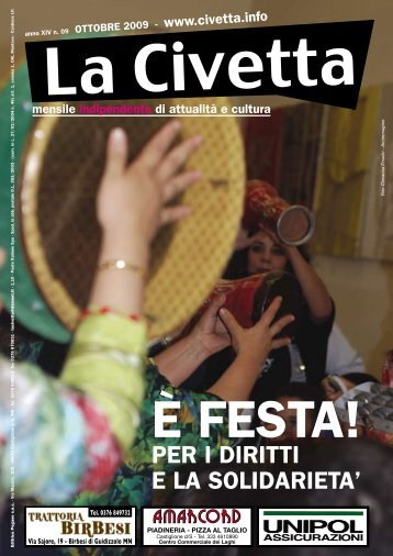 scarica la rivista - La Civetta