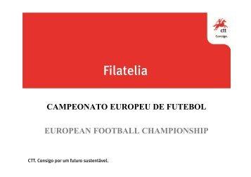 Campeonato europeu de Futebol - CTT
