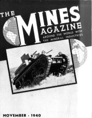 ble and Continuous - Mines Magazine - Colorado School of Mines