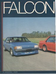 Car Australia – Falcon Quick Article - Mechanic, Turbo chargers ...