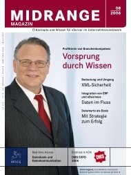 Midrange MAGAZIN August 2008