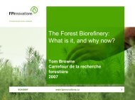 The Forest Biorefinery: why now? - Biology East Borneo