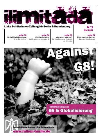 G8 & Globalisierung - Falken Berlin