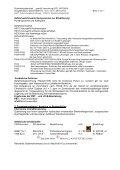1. Stoff-/ Zubereitungs- und Firmenbezeichnung Angaben zum ... - Page 2