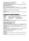 1. Stoff-/ Zubereitungs- und Firmenbezeichnung Angaben zum ... - Page 4