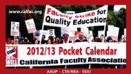 2012/13 Pocket Calendar
