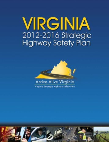 Virginia's Strategic Highway Safety Plan - Virginia Department of ...