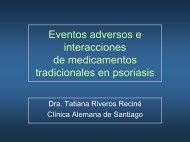 Eventos adversos e Interacciones de medicamentos tradicionales ...