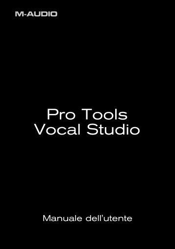 Pro Tools Vocal Studio - M-Audio