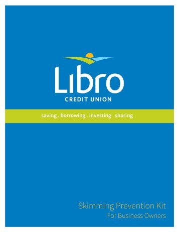 Skimming Prevention Kit - Libro Financial Group