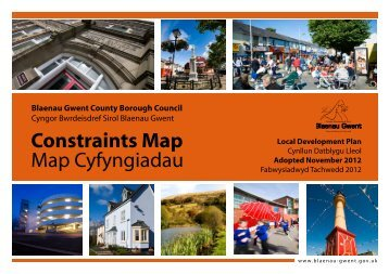 Constraints Map - Blaenau Gwent County Borough Council