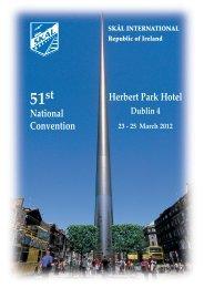 Skal 51st Convention.pdf - Irish Hospitality Institute