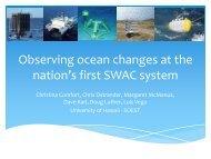 C. Comfort_ SWAC Environmental Monitoring during Ops