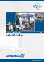 Agilo Möbelaufzug - Albert Böcker GmbH & Co. KG