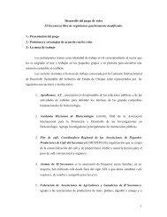 1 Desarrollo del juego de roles El Soconusco libre de organismos ...