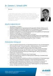 Dr. Clemens C. Schmoll zSPM - diebasis