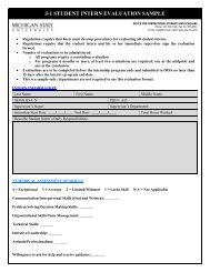 J Student Intern Evaluation Sample - Office for International Students ...