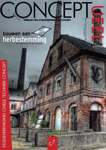 Jaargang 21 editie 1 - Studievereniging ConcepT - Universiteit Twente