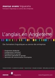 marcus evans - Linguarama
